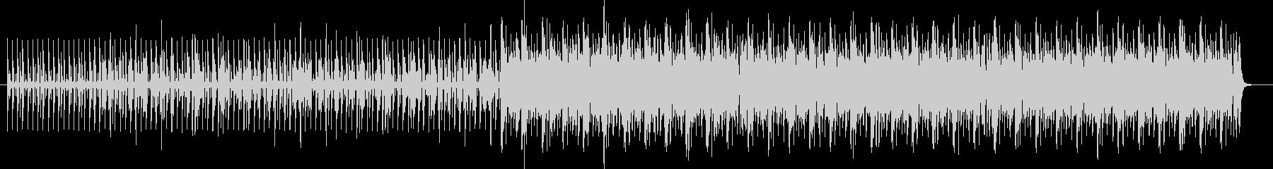 シェイカーポップミュージックの未再生の波形