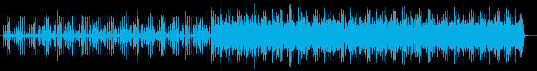 シェイカーポップミュージックの再生済みの波形