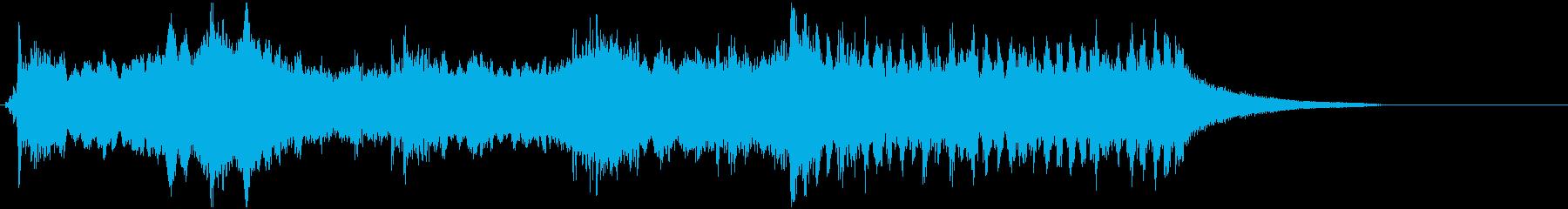 オープニングジングルその2の再生済みの波形