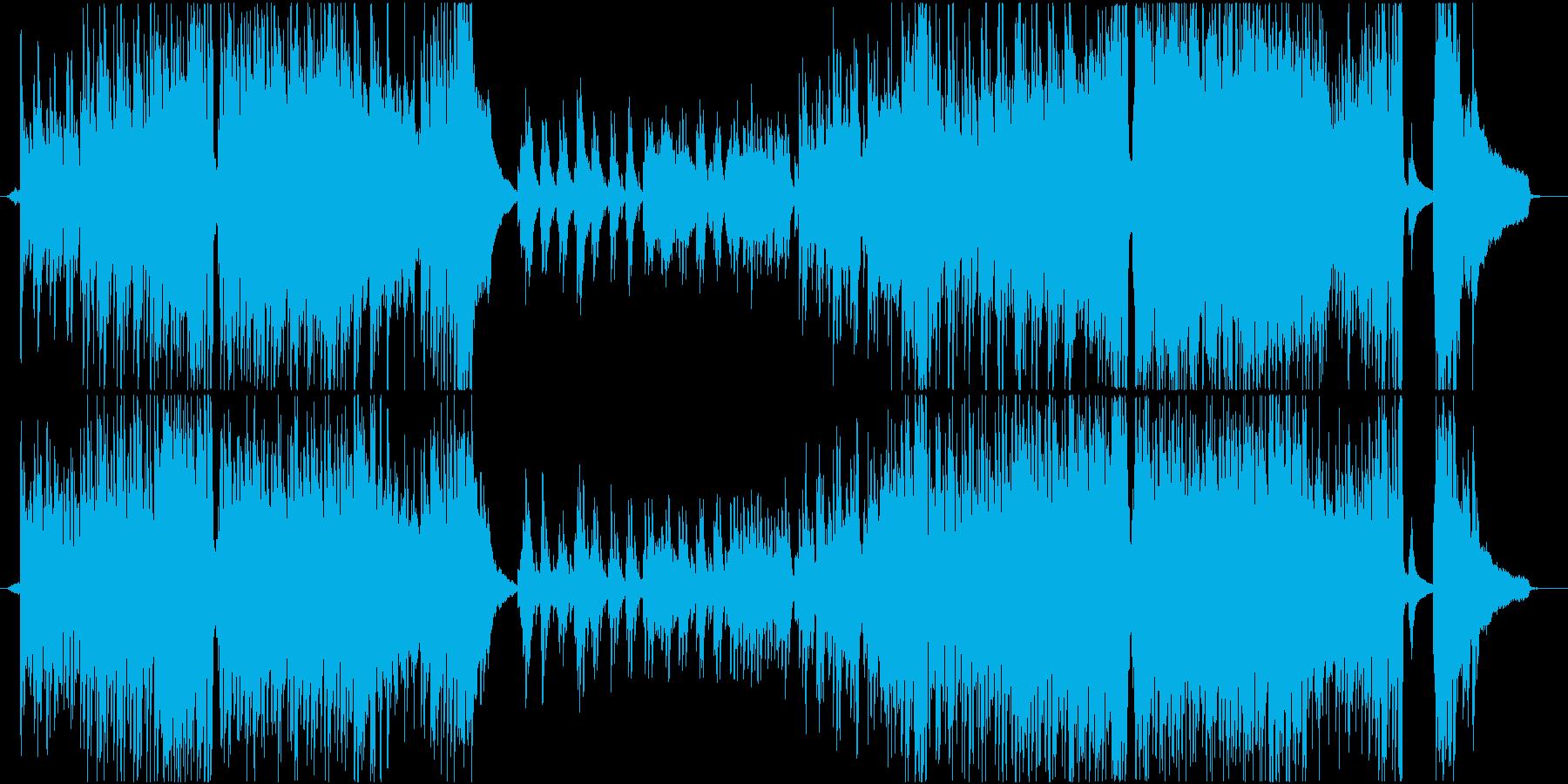 ドラマ ポジティブ ハッピー BGMの再生済みの波形