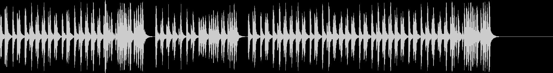 昔のディズニー風 映画カートゥーンアニメの未再生の波形