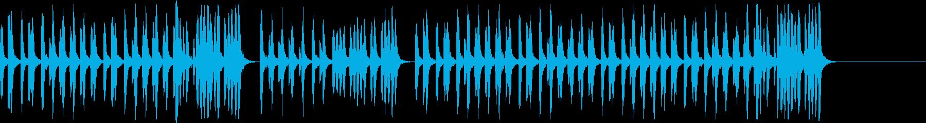 昔のディズニー風 映画カートゥーンアニメの再生済みの波形