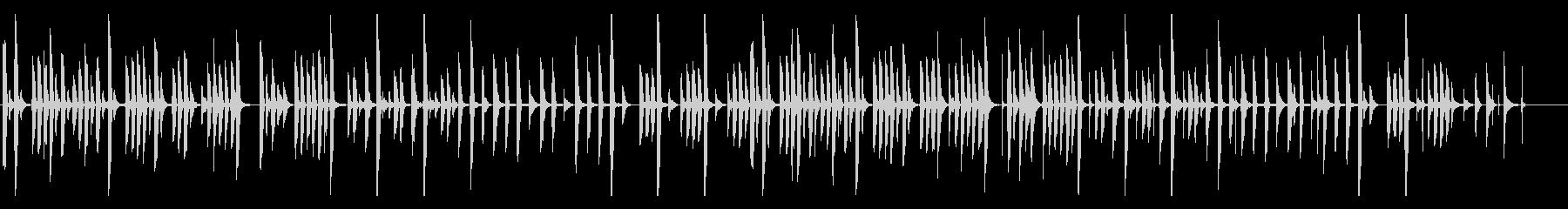 トーク・説明向きの、かわいいゆるい曲の未再生の波形