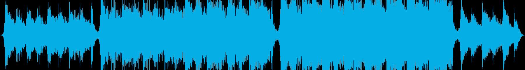 エキサイティングでエネルギッシュで美しいの再生済みの波形