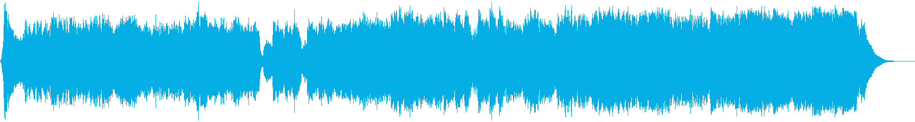 HOLLYWOOD OVERTUREの再生済みの波形