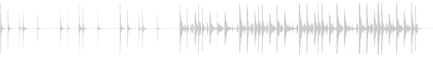 KANTハンズクラップジングル2の未再生の波形