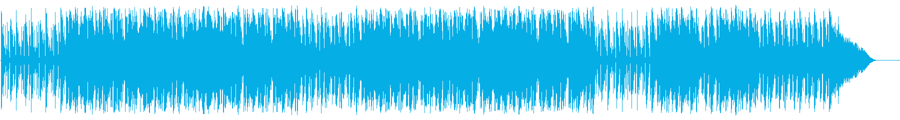 A bright and fun song's reproduced waveform