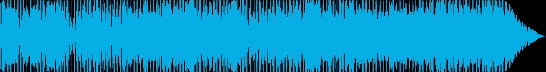 グルーヴィーなエレキギターのメロデ...の再生済みの波形