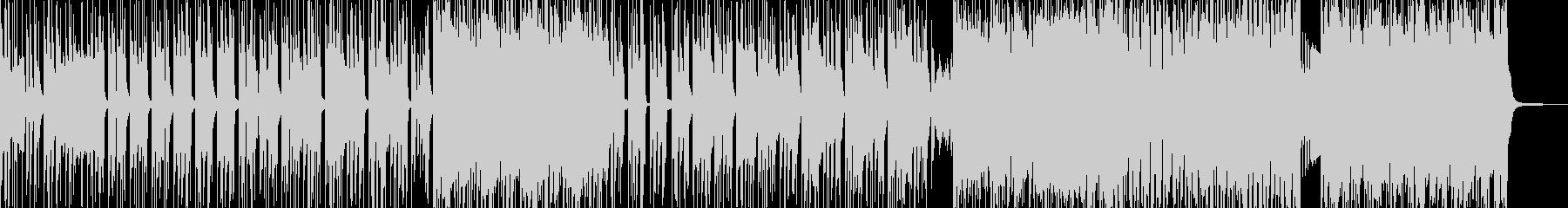 無機質&異次元・妖艶なヒップホップ Bの未再生の波形