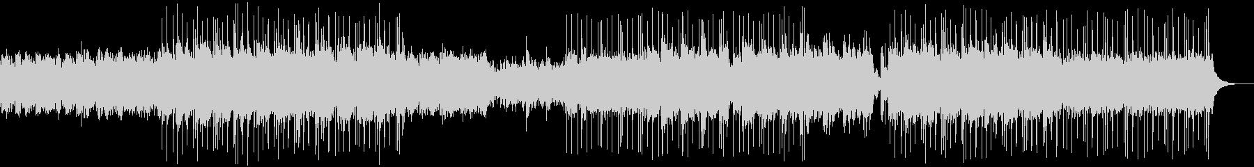 優しいヒーリング系アコギ、ピアノ楽曲の未再生の波形