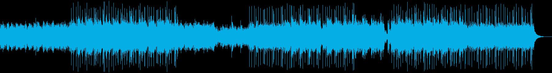 優しいヒーリング系アコギ、ピアノ楽曲の再生済みの波形