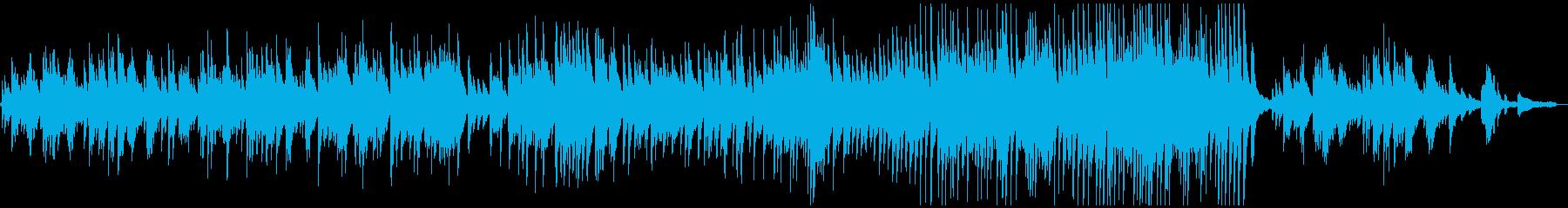 ピアノソロのバラードです。の再生済みの波形