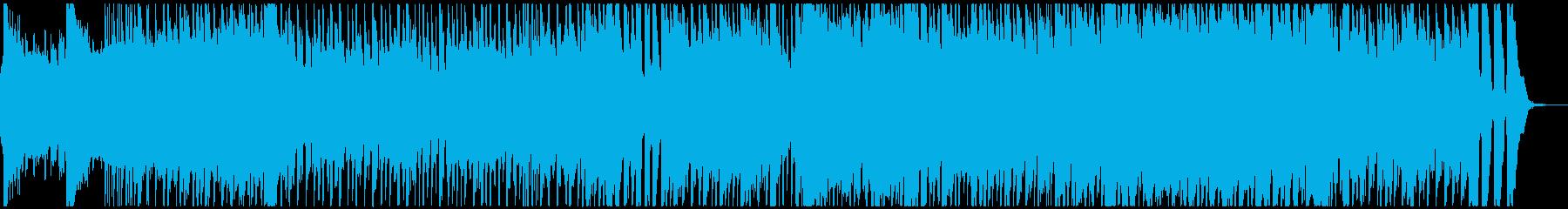 自然な雰囲気の明るいポップロック_ハーフの再生済みの波形