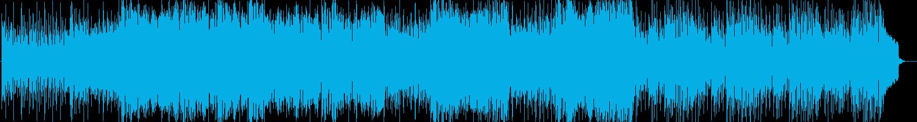 尺八と琴の旋律が印象的な和風なBGMの再生済みの波形