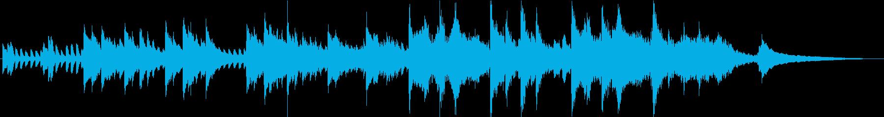 PV】エレガントで感動的なピアノBGMの再生済みの波形