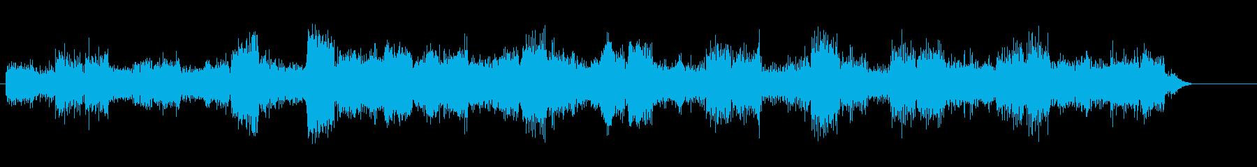 絶望、失望的な未来、動揺する暗い音 1の再生済みの波形