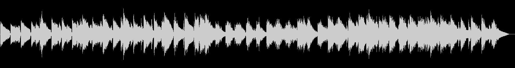 幻想的なボサノバの未再生の波形