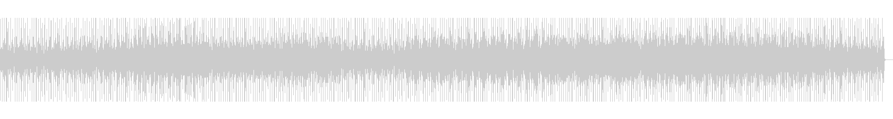 80年代風Lo-Fi曲の未再生の波形