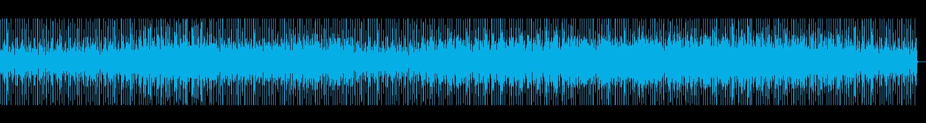 80年代風Lo-Fi曲の再生済みの波形