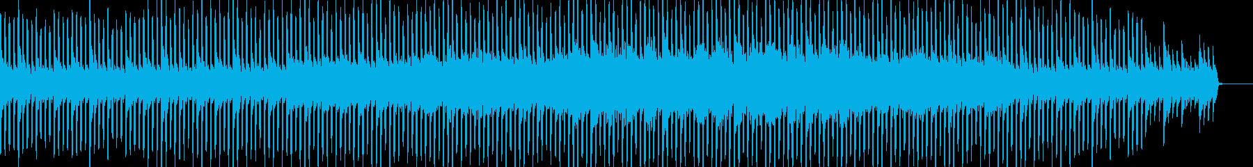 企業VPや映像に!静かで爽やかなBGMの再生済みの波形