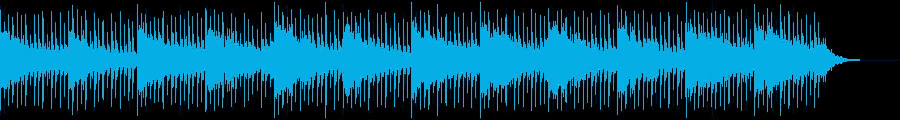 これはインタビュー(60秒)ですの再生済みの波形