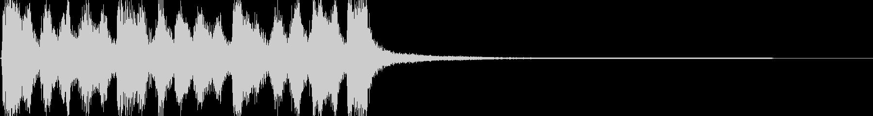 メルヘン、童話イメージのジングルの未再生の波形