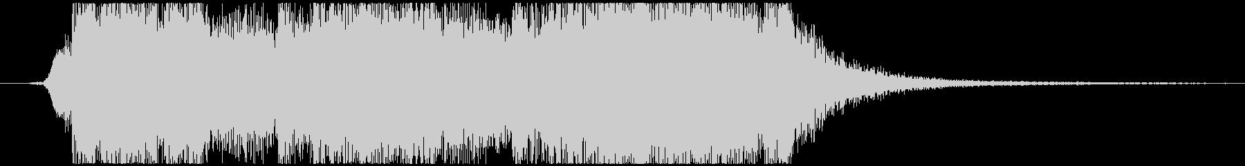 壮大でかっこいいオケファンファーレの未再生の波形