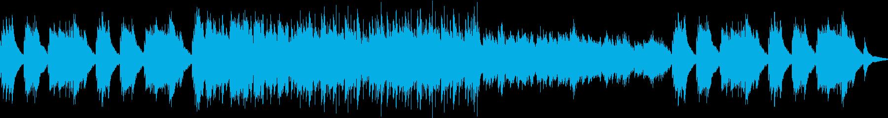 Piano  musicの再生済みの波形