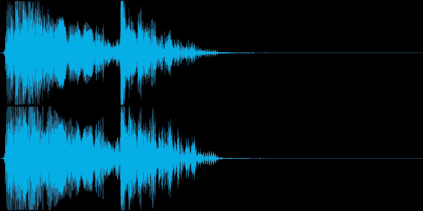 格闘ゲーム用「ラウンド2」の再生済みの波形