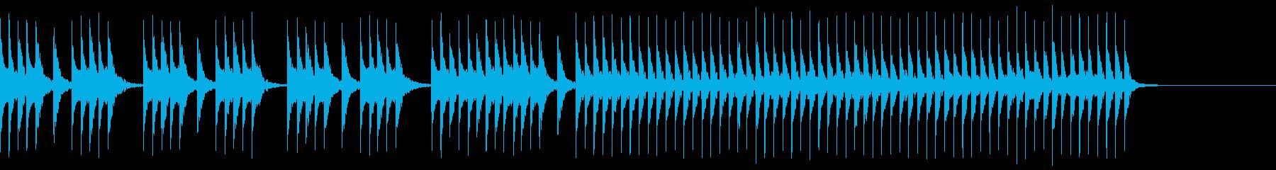 和楽器/三味線/和風フレーズ/#3の再生済みの波形