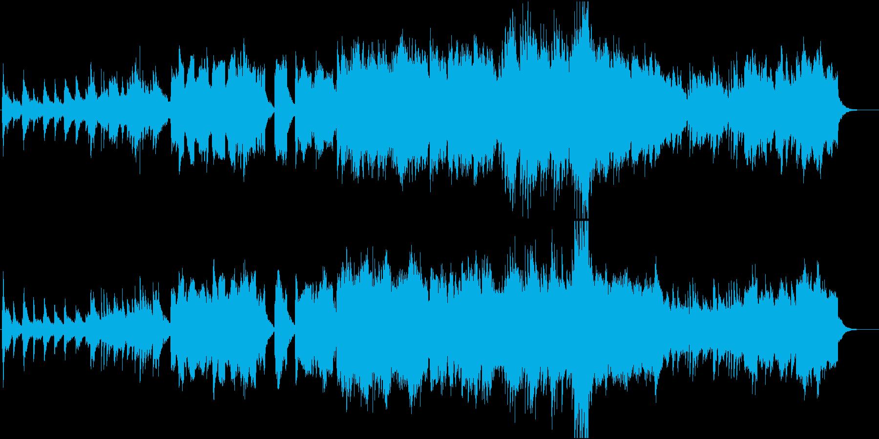 湖のしずくの再生済みの波形