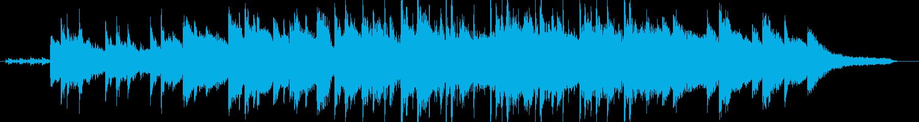 瑞々しく弾むようなピアノ曲の再生済みの波形