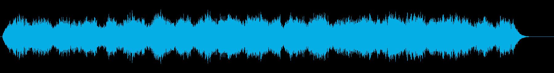 無重力感広がるアンビエント系トランスの再生済みの波形