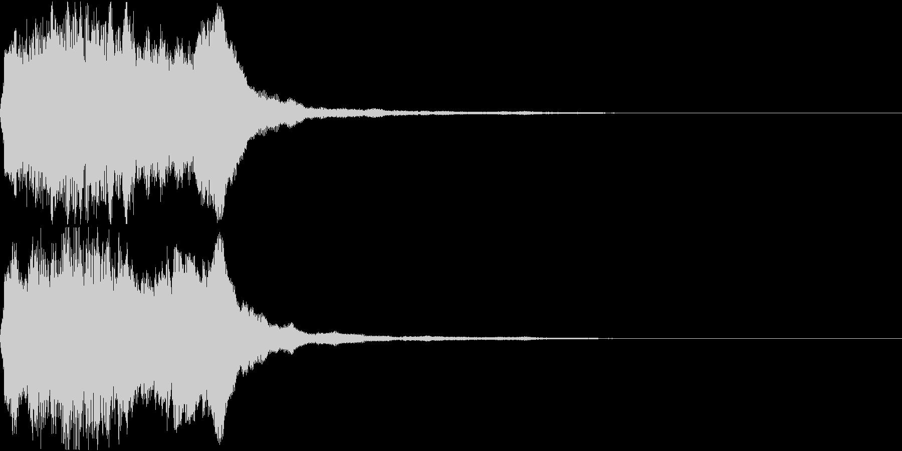 ラッパ ファンファーレ 定番 7の未再生の波形
