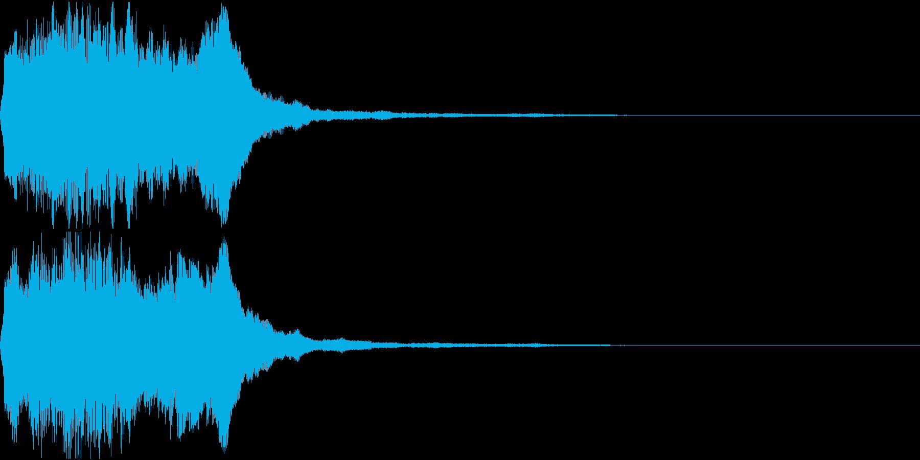 ラッパ ファンファーレ 定番 7の再生済みの波形