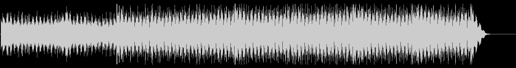 CG感の強い四つ打ちの未再生の波形
