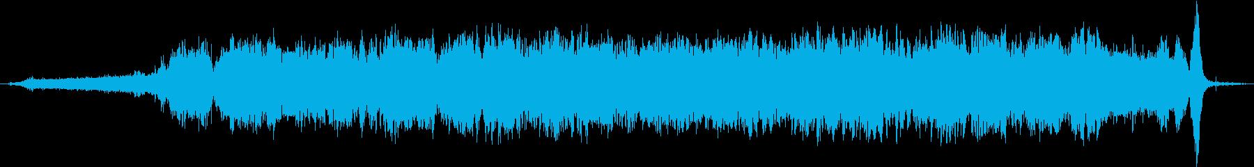 電気ケトル:ヘビーコンスタントホイ...の再生済みの波形