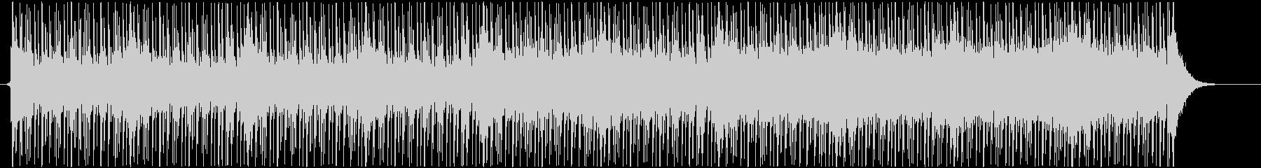 三味線のリフと4つ打ちの和風ダンス曲の未再生の波形