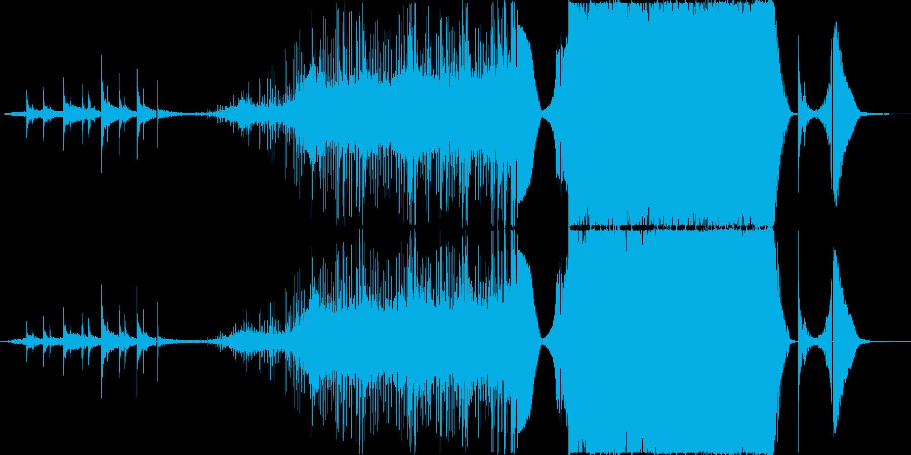 [映画・劇伴] アクション系 トレーラーの再生済みの波形