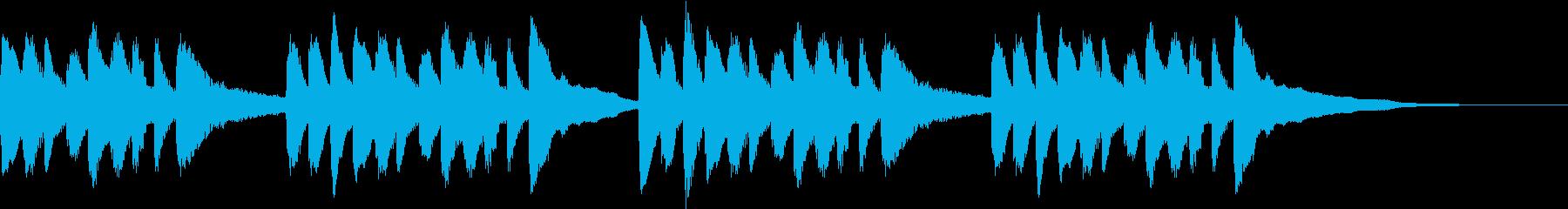 悲しい物語 ピアノソロの再生済みの波形