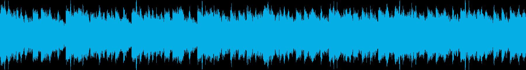民族調バラード アコースティック ループの再生済みの波形