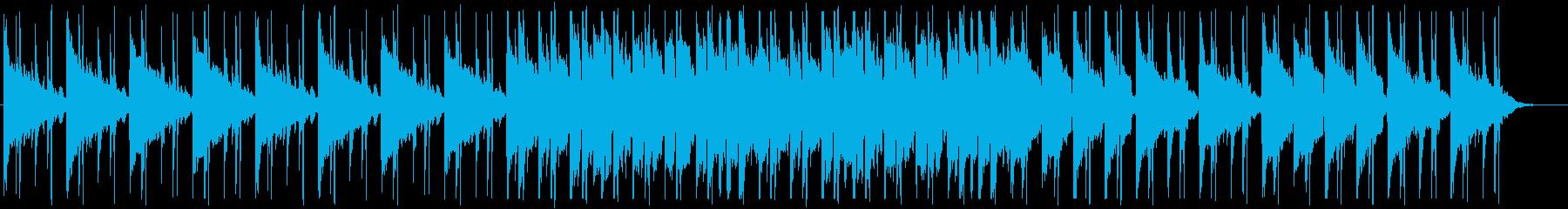 和を感じるクールな曲の再生済みの波形