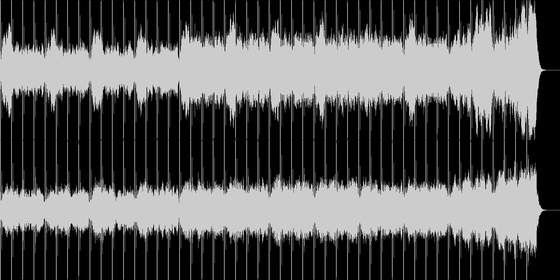 不穏な雰囲気のストリングス曲の未再生の波形