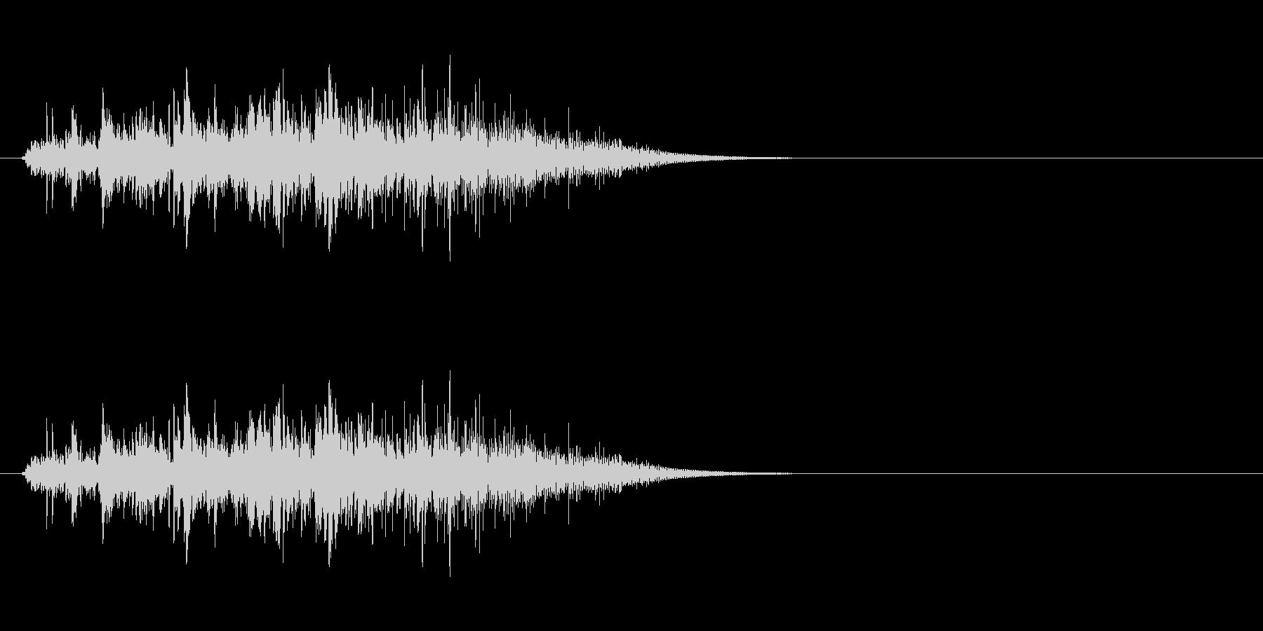 動かす音(石像、石扉など)の未再生の波形