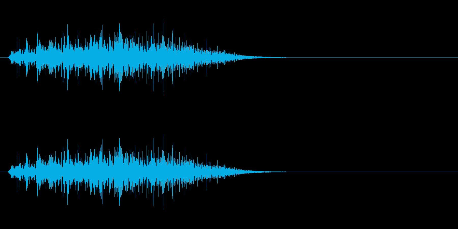 動かす音(石像、石扉など)の再生済みの波形