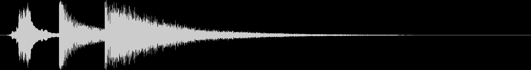コミカルホイッスルバングクラッシュの未再生の波形