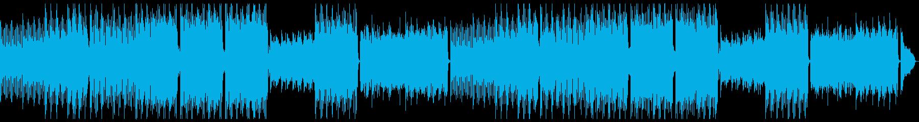カジュアル穏やかエレピポップ:フルx2の再生済みの波形