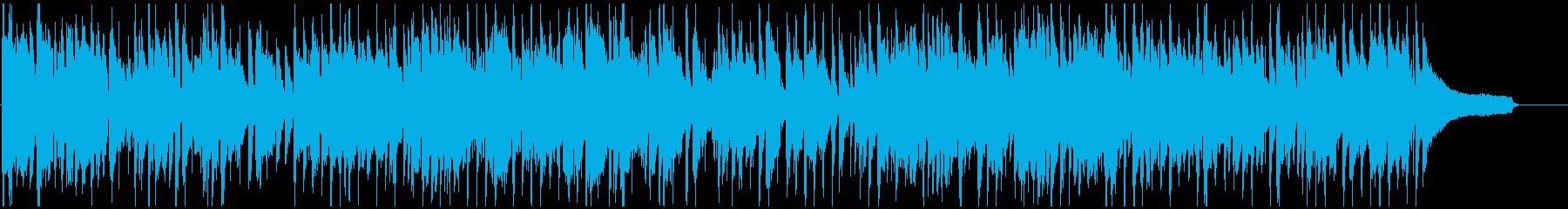 ソプラノ・サックス、都会的なクラブジャズの再生済みの波形