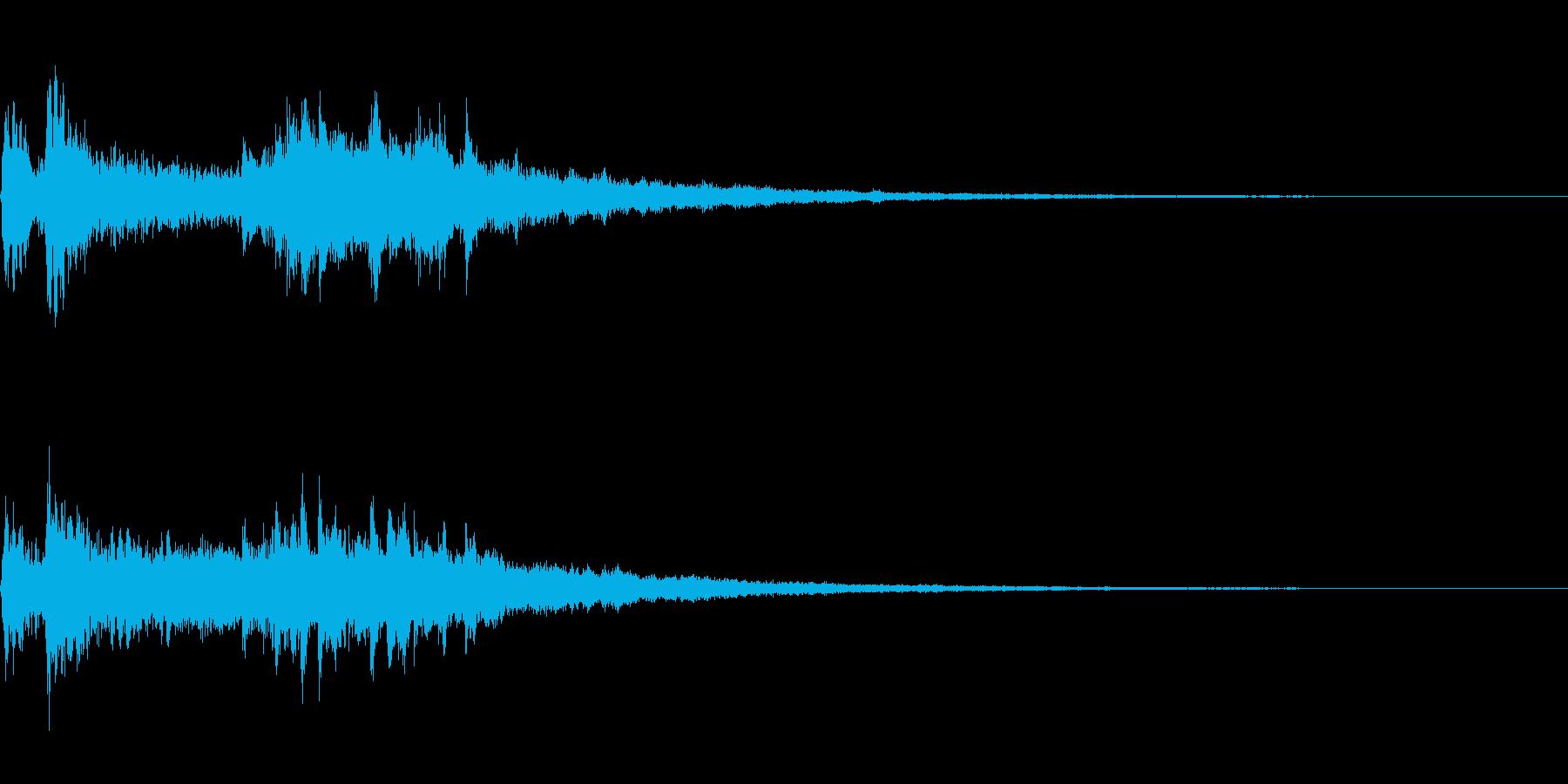 劇伴~衝撃を受けた時のピアノのフレーズ~の再生済みの波形