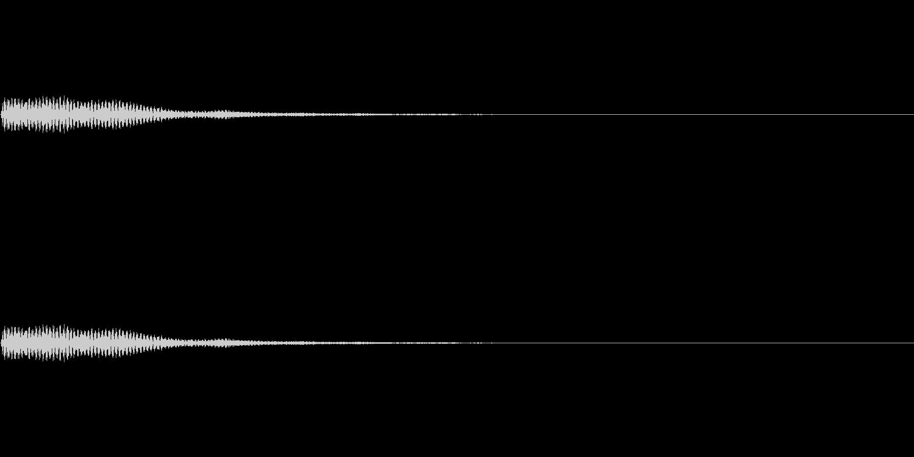 デン!ゲームアプリ決定音【11-1】の未再生の波形
